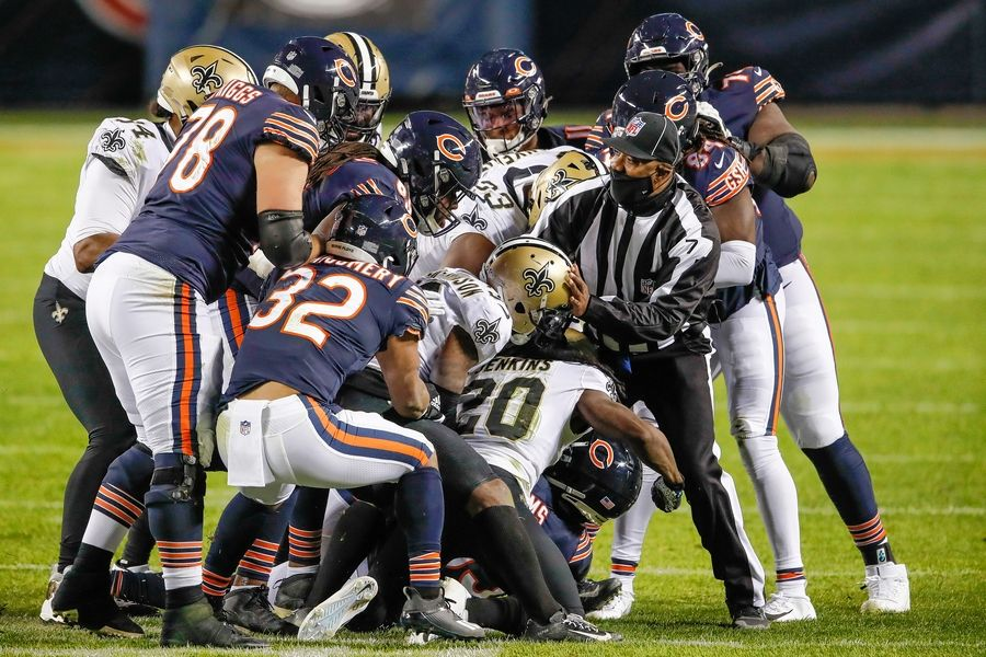The Bears and Saints renew acquaintances in a Sunday Wild Card game in New Orleans.