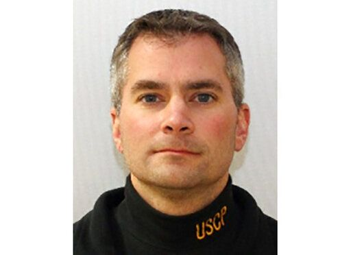 This undated image provided by the United States Capitol Police shows U.S. Capitol Police Officer Brian Sicknick, who died Thursday, Jan. 7, 2021, of injuries sustained during the riot at the Capitol. A native of South River, N.J., Sicknick served in the New Jersey Air National Guard and went on to a law enforcement career, which his family said was his lifelong dream. He joined the Capitol Police in 2008.  (United States Capitol Police via AP)