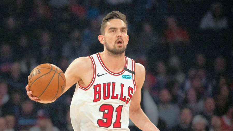 Bulls guard Tomas Satoransky is one of two Chicago players out of action after a positive COVID test. The Bulls game against Boston, scheduled for Tuesday at the United Center, has been postponed due to the Celtics not having the required eight players available due to coronavirus issues.