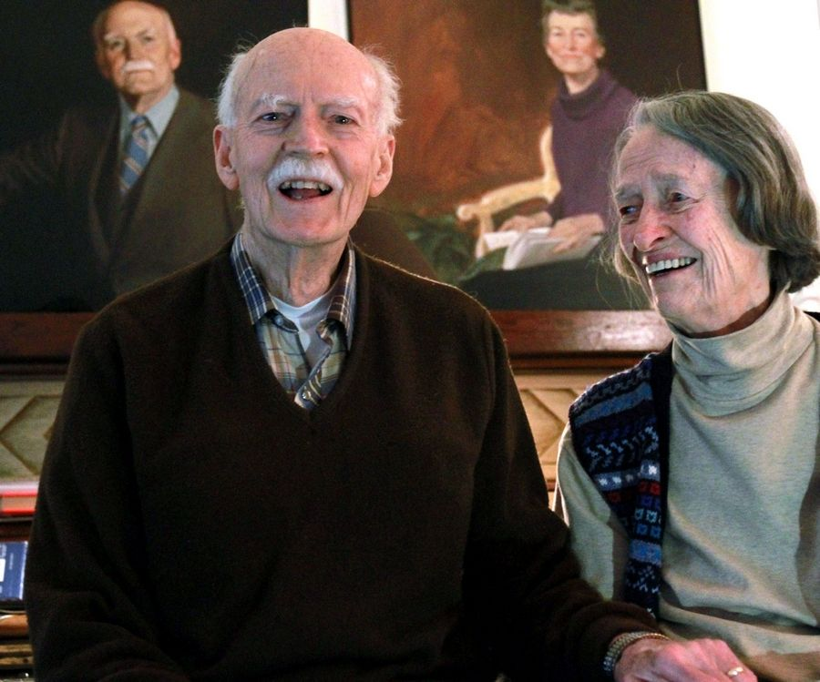 Moving to Arlington Heights in 1954, Richard and Margery Frisbie were writers and activists dedicated to the community.