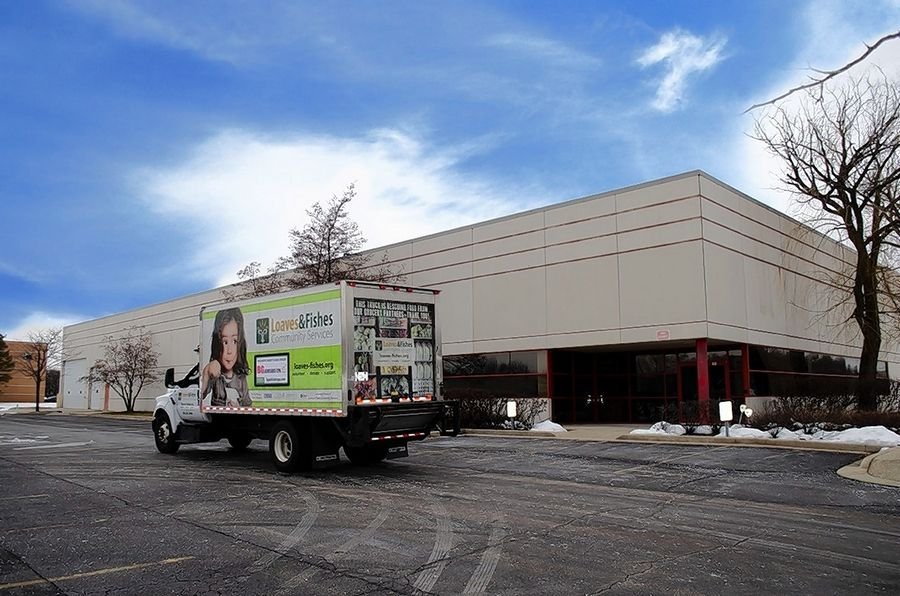 Loaves & Fishes Community Services has acquired a new Aurora building that will serve as its central hub for storing, sorting and distributing food products.