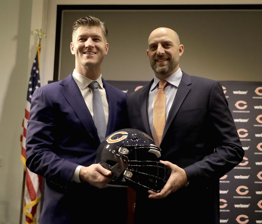 Bears general manager Ryan Pace and head coach Matt Nagy will return next season, chairman George McCaskey made official Wednesday.