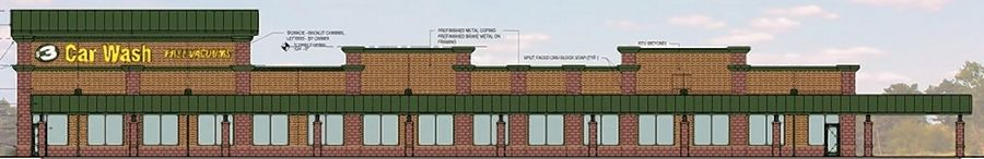 Jet Brite has proposed razing a shuttered restaurant building and constructing a car wash facility along East Ogden Avenue in Naperville. The company's request for a condtional use cleared the planning and zoning commission and now goes to the city council.