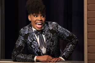 "Amber Ruffin brings the funny to the weekly comedy series ""The Amber Ruffin Show,"" available on the Peacock streaming service."