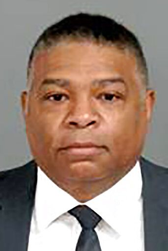 This Jan. 14, 2021 photo provided by the Genesee County Sheriff's Office in Flint, Mich., shows Howard Croft, the former Flint Director of Public Works, who was charged with nine felony counts involuntary manslaughter, and two felony counts misconduct in office, Thursday, Jan. 14, 2021 in connection with the Flint water crisis in Flint, Mich. (Genesee County Sheriff's Office via AP)
