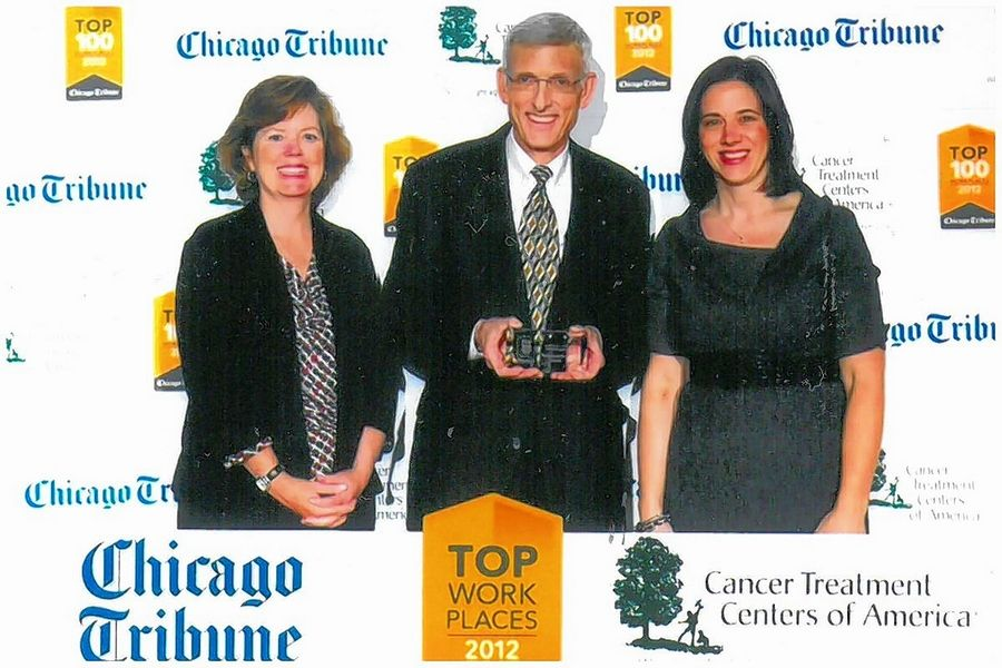 Chad Raymond took pride in the fact that in 2012 the Chicago Tribune chose the Northbrook Public Library as among the top 100 work places.