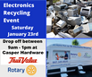 Recycle your unwanted electronics Jan. 23 in Lake Zurich