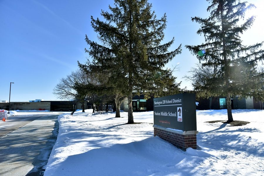 Barrington Middle School's Station Campus, 215 S. Eastern Ave., is among three schools in Barrington Area Unit District 220 where a multiyear construction project will begin this summer.