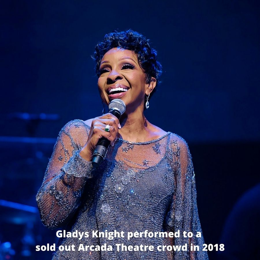 Gladys Knight performed to a sold-out Arcada Theatre crowd in 2018.