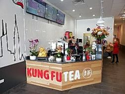 Kung Fu Tea, offering a selection of customizable bubble tea drinks, has opened at 1643 W. Algonquin Road in Rolling Meadows.