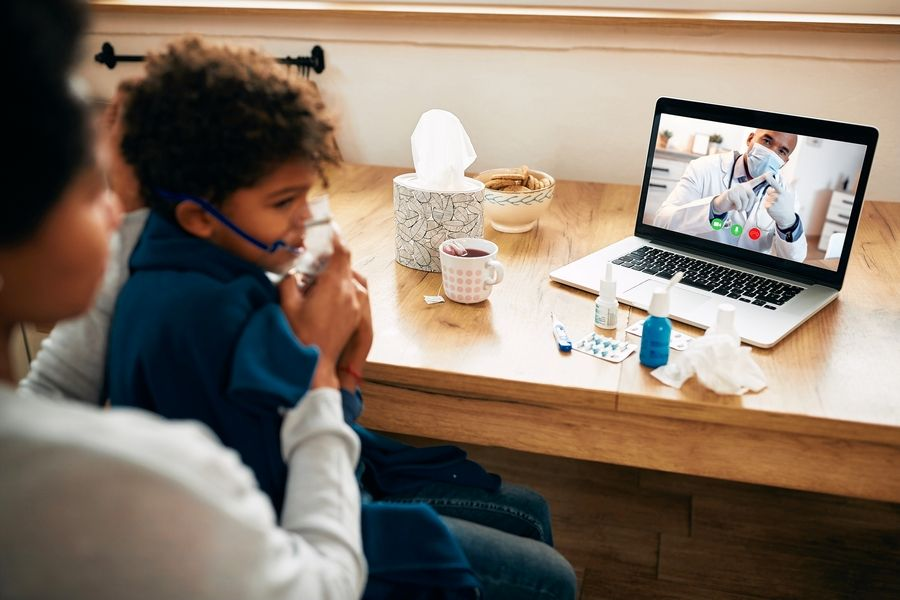 Some doctors may refer your child for a telehealth visit with a pediatric specialist.