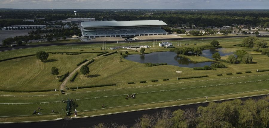"Arlington International Racecourse is going on sale as a ""redevelopment opportunity,"" owners Churchill Downs Inc. announced Tuesday. Churchill officials pledged to keep the historic horse racing venue open for the 2021 season."