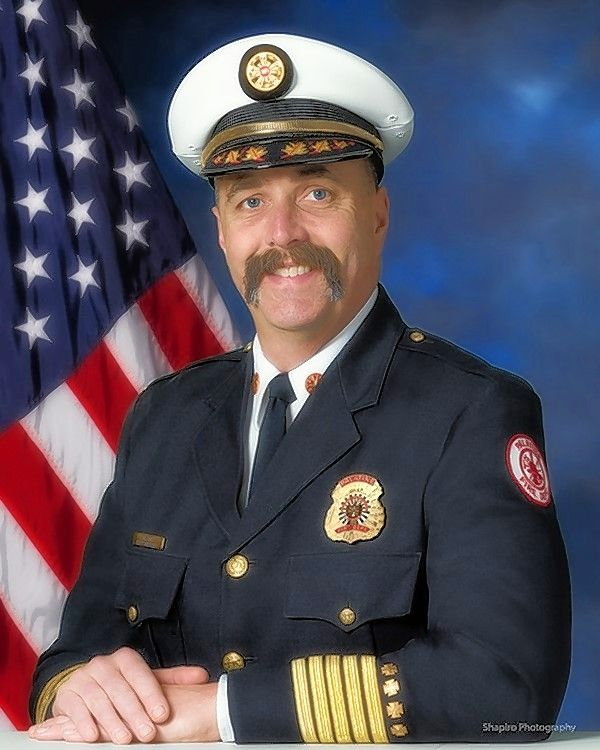 Palatine Fire Department Chief Scott Andersen will retire May 17 after a 30-year career.