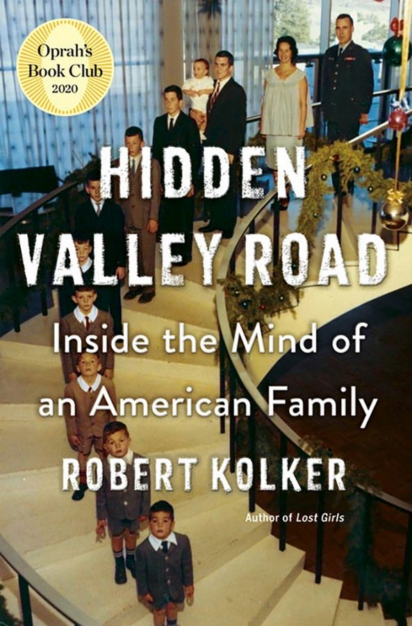 "Join the Glencoe Public Library's virtual discussion of Robert Kolker's ""Hidden Valley Road: Inside the Mind of an American Family"" at 1 p.m. today, Feb. 25."