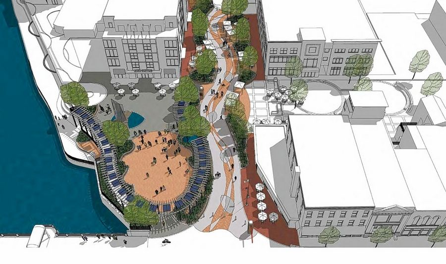 A community survey indicated tremendous support for the direction of 1st Street Plaza project in St. Charles.