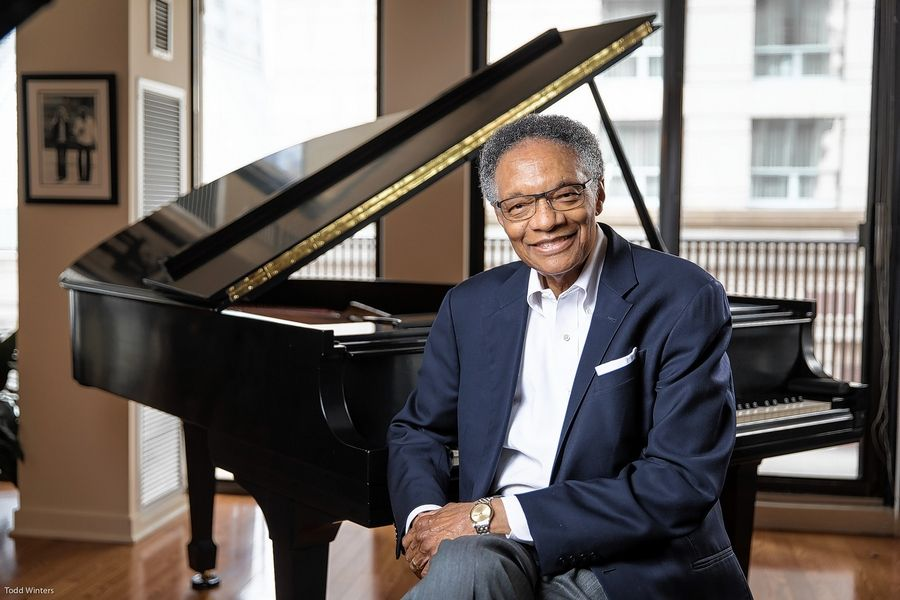 "Jazz pianist Ramsey Lewis plays selections from ""West Side Story"" and other love songs for a livestream concert this weekend."
