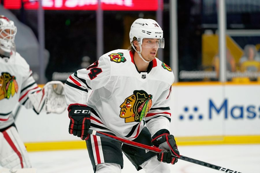 The Chicago Blackhawks sent defenseman Nicolas Beaudin to the AHL's Rockford IceHogs.