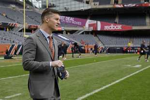 Bears general manager Ryan Pace didn't say much Tuesday on the team's future, but said he has a plan in place.