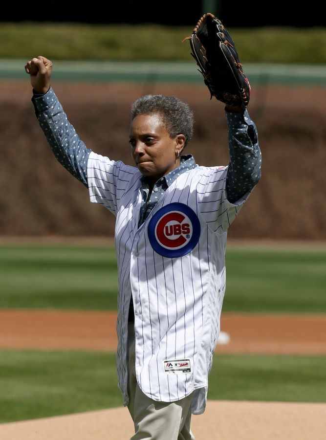 Chicago Mayor Lori Lightfoot said Monday the Cubs and Sox have been approved to fill 20% of the their ballparks when the season begins next month.