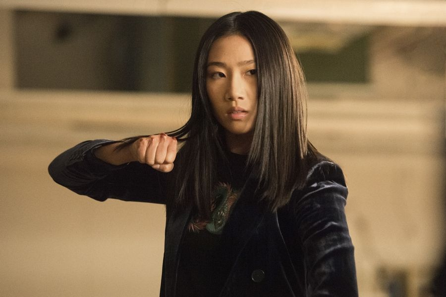"Olivia Liang learned martial arts to play Nicky Shen in The CW's ""Kung Fu,"" premiering Wednesday, April 7."