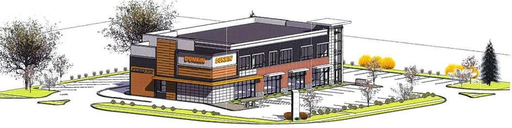 Dunkin' to anchor Mount Prospect mixed-use development