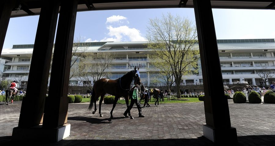 What becomes of the 326-acre Arlington Park property could become clearer in June, when development proposals are due to owner Churchill Downs Inc. Everything from a Bears stadium to a continued horse racing operation are on the table, Arlington Heights Mayor Tom Hayes said Wednesday.