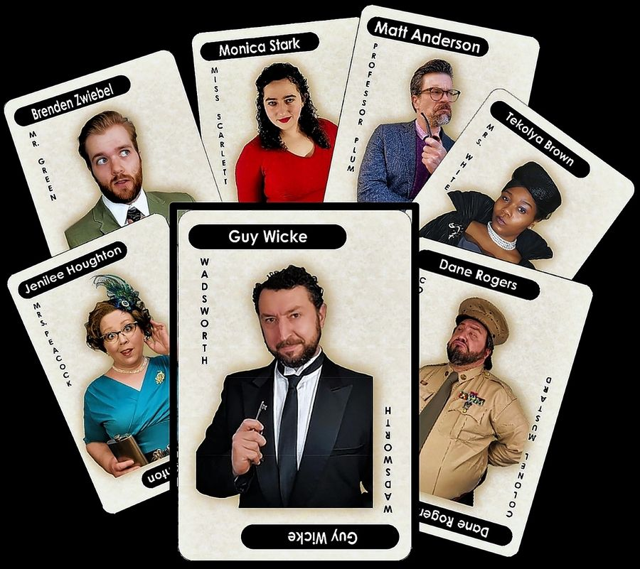 "The Kirk Players will present ""Clue: The Stay-at-Home Version"" on May 22 and 23."