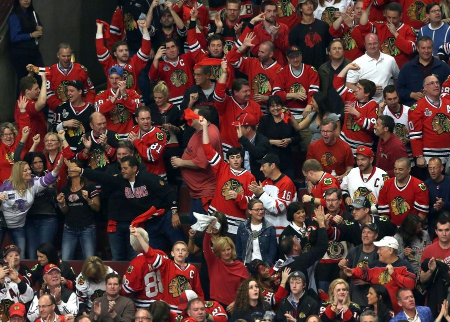 The Blackhawks will welcome fans to the United Center for the final two games of the season, May 9 and 10, it was announced Thursday.