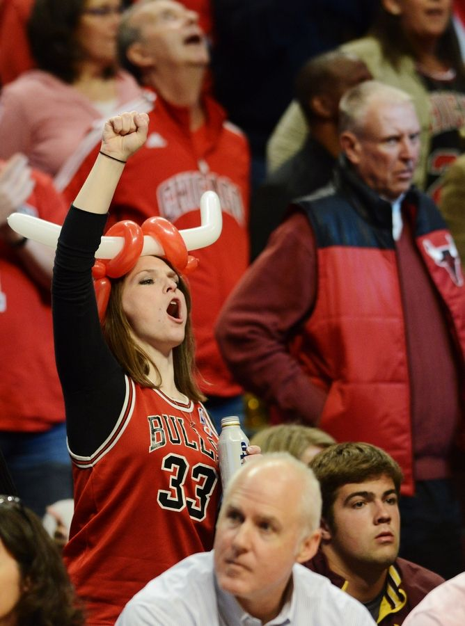 The Bulls will have fans at the last four games of the regular season, starting May 7 against Boston.