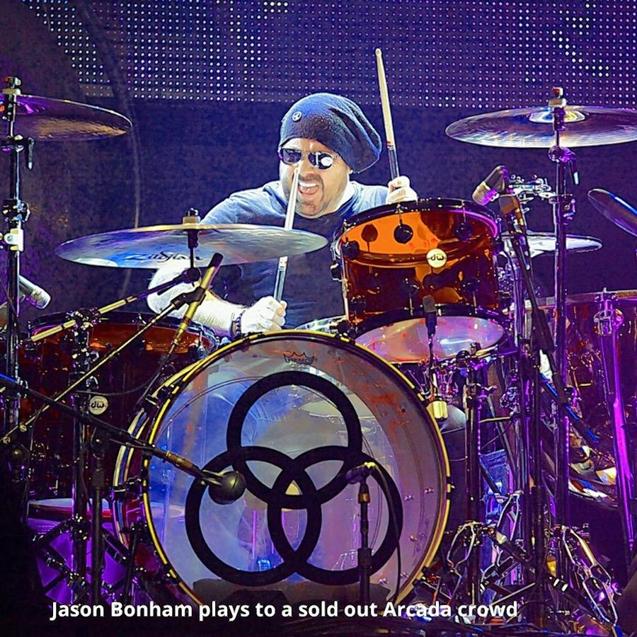 "Before the pandemic, drummer Jason Bonham brought his ""Led Zeppelin Experience"" multimedia and live band concert to St. Charles."