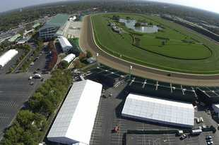 There is plenty of room at Arlington Park for both horses and Bears.