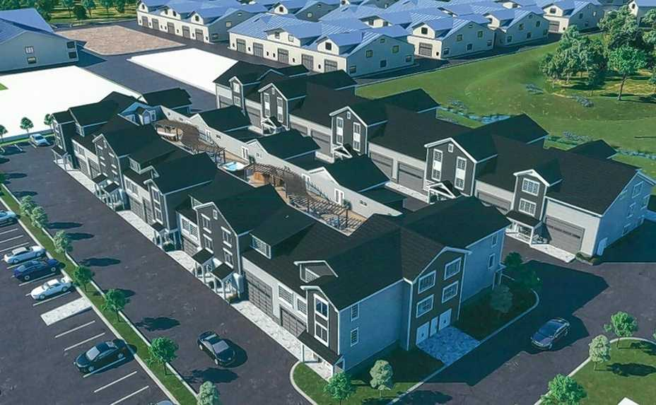 Six residential buildings with 51 total units are proposed to be constructed within Naperville's Iron Gate Motor Condos complex, a community of garage-style condominiums where owners can store their specialty cars and other collectibles.