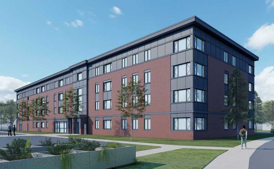 An affordable-housing apartment building was proposed for 800 Beau Drive in Des Plaines. Developers have pulled the plan from consideration.