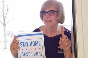 "Then-Mount Prospect Mayor Arlene Juracek was leading the way during the early days of the pandemic last year with a message of ""Stay Home, Save Lives."" Now the village and several other community organizations are working together to document what life has been like for community members during the pandemic."