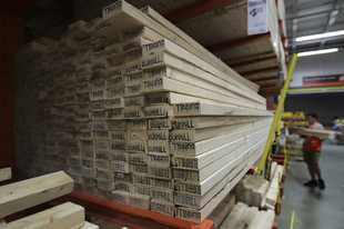 Builders across the country are grappling with a lumber shortage.