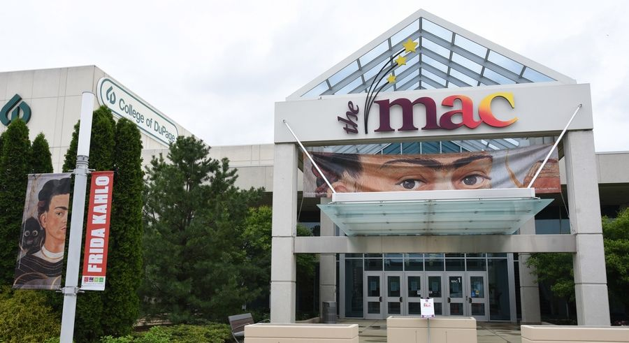 A Frida Kahlo exhibit opens June 5 at the Cleve Carney Museum of Art in the McAninch Arts Center on the College of DuPage campus in Glen Ellyn.