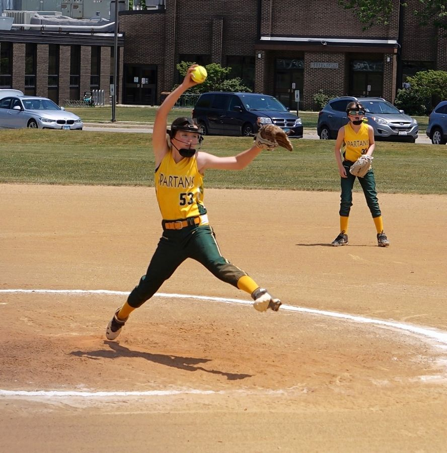 Pitching Rules At Northbrook S Spartan Classic Girls Softball Tournament