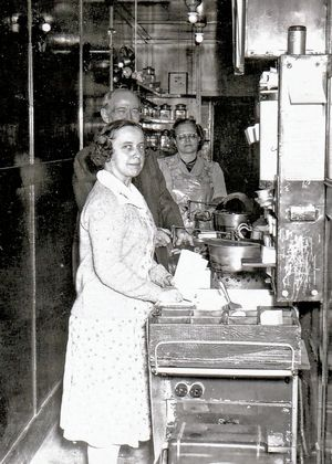 Erma Newland, the daughter of the original owner of the popcorn business, ran the store before the Wakefield family took it over in 1979.