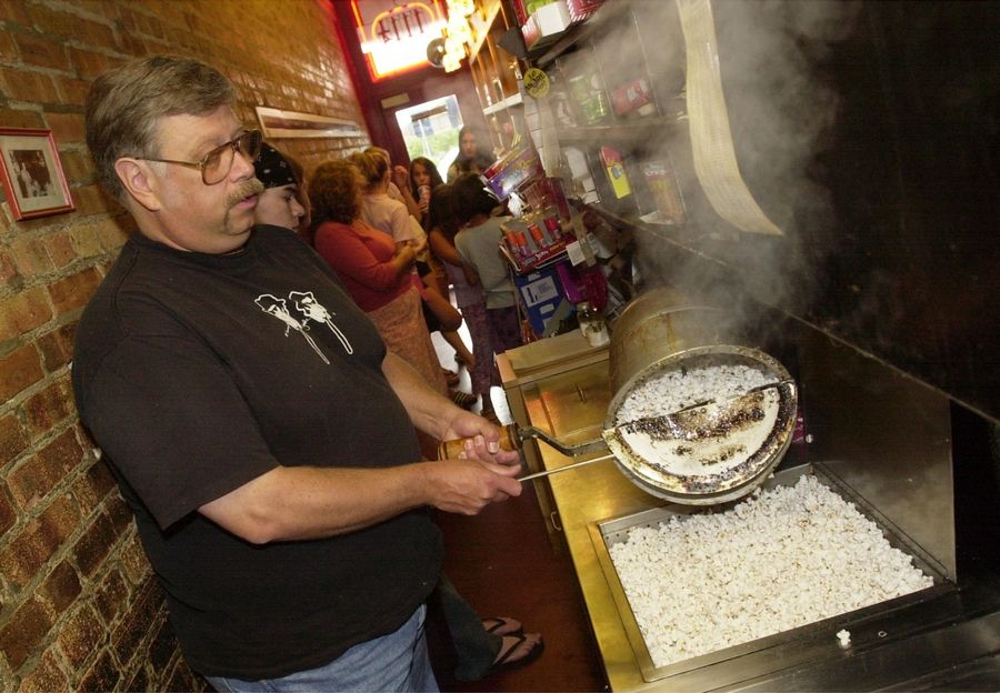 Bill Wakefield ran the Little Popcorn Store in Wheaton for decades before he died in August 2019.