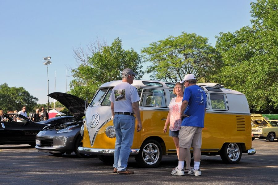 Cruise Night Tuesdays are back this year at Cantigny Park in Wheaton.