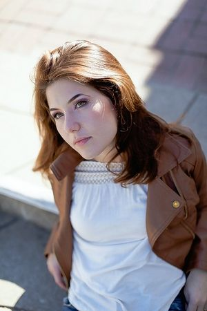 Molly Clementz, originally from Saint-Charles, plays Nancy in the performance of Benjamin Britten's comedy, Sunday July 18.