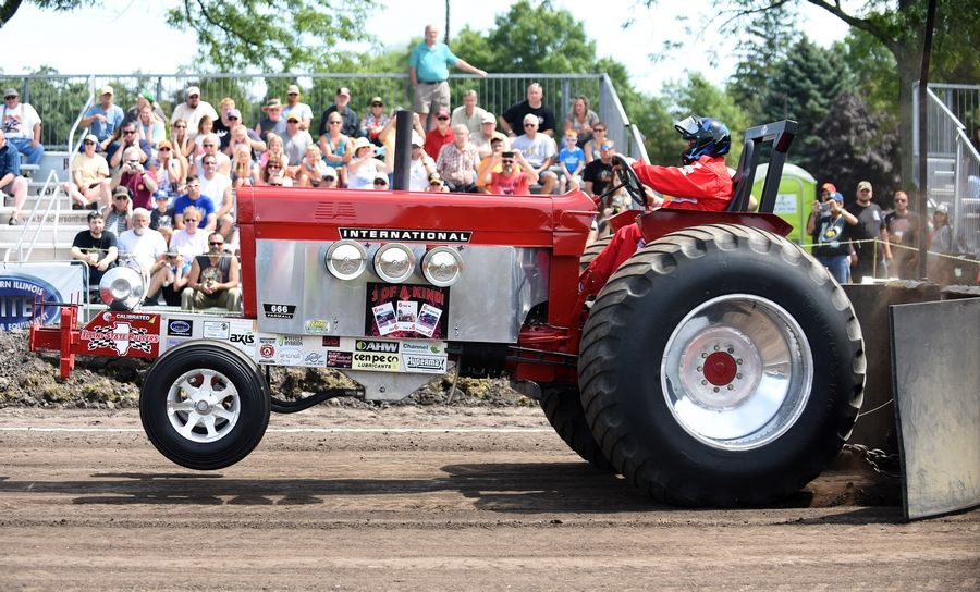 Truck and tractor pulls take place Saturday at the Elburn Days festival.