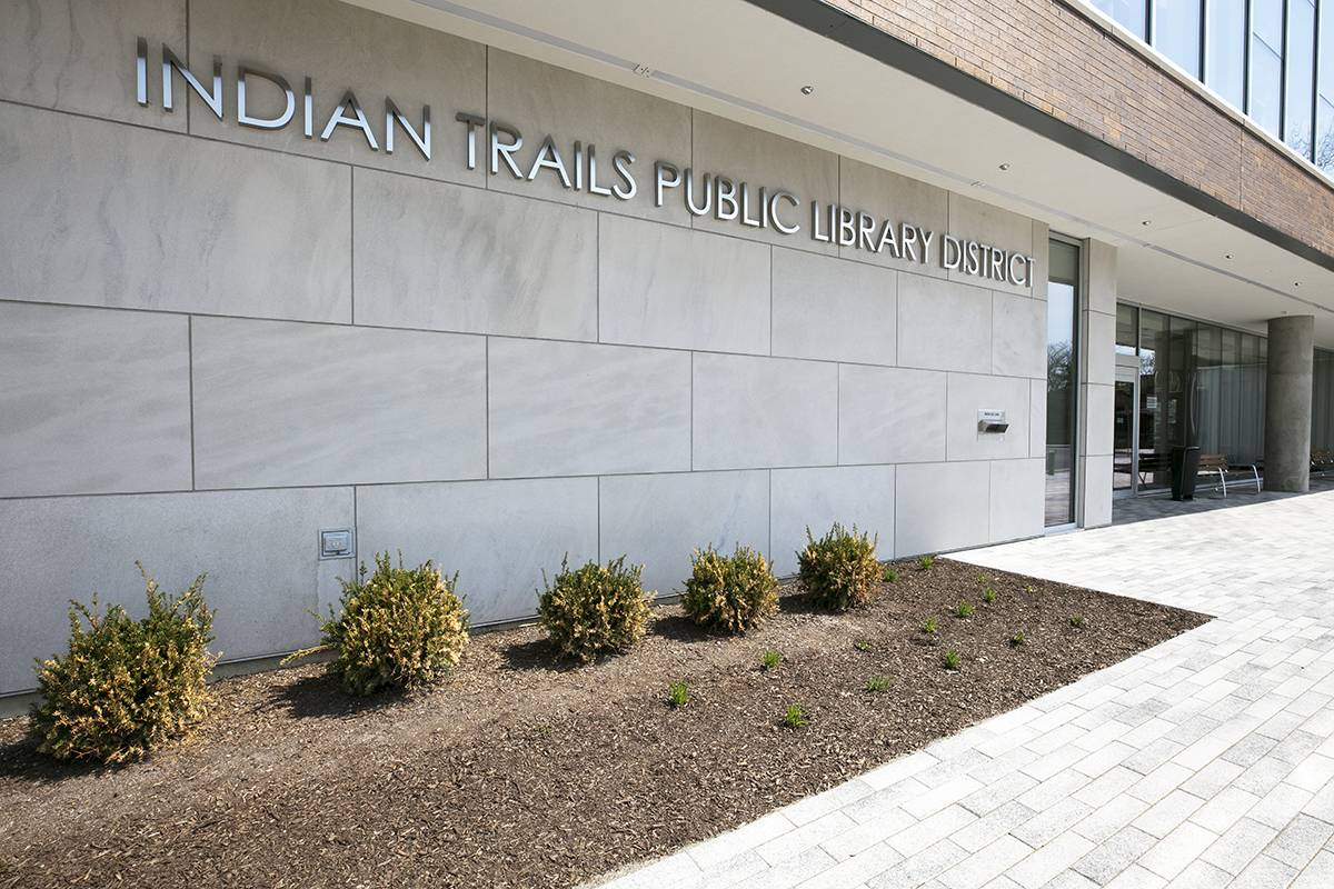 Indian Trails Library opened May 6 in a newly renovated and expanded space.McShane Fleming Studios