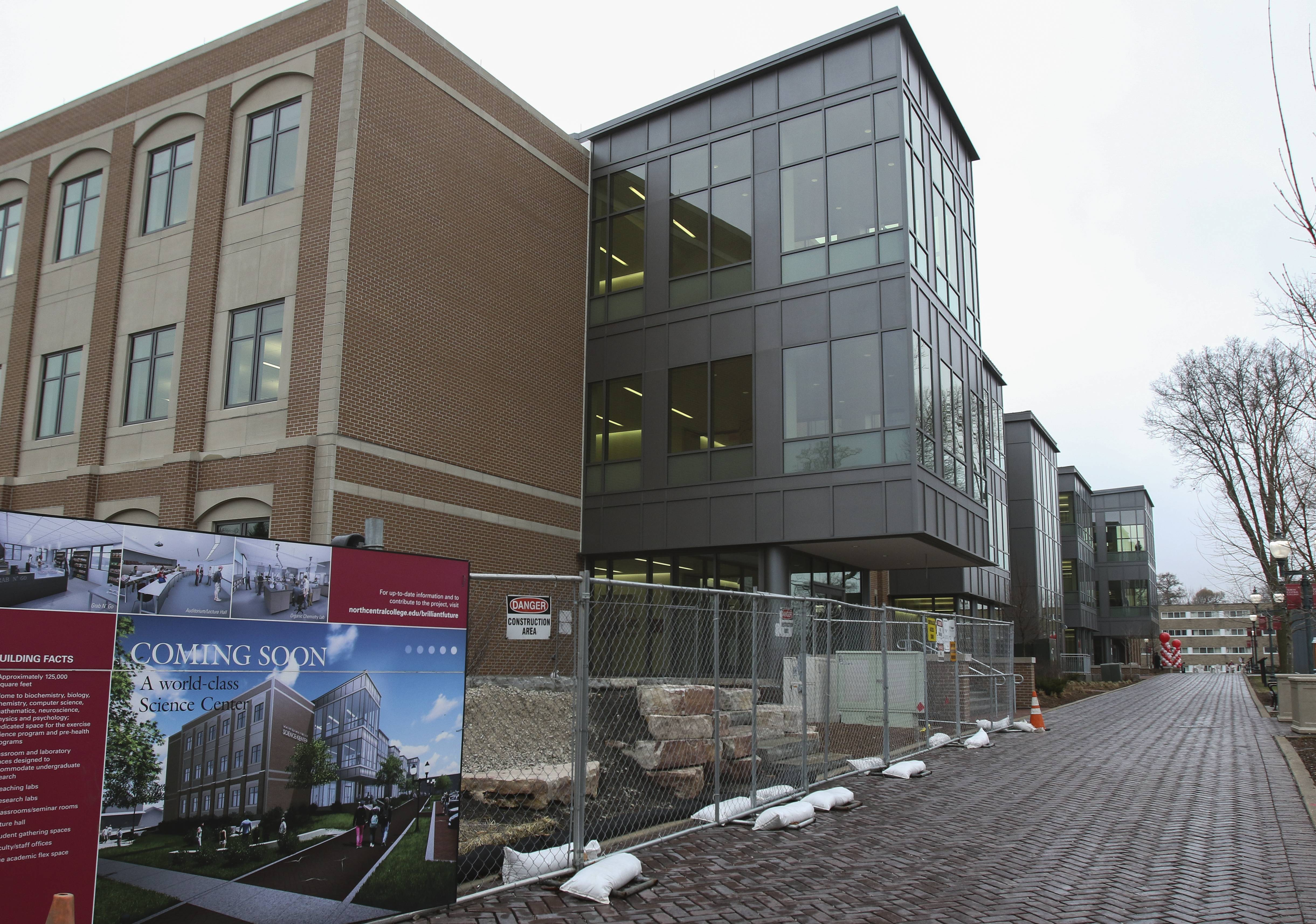 North Central College names science center for Myron Wentz after 'substantial' donation