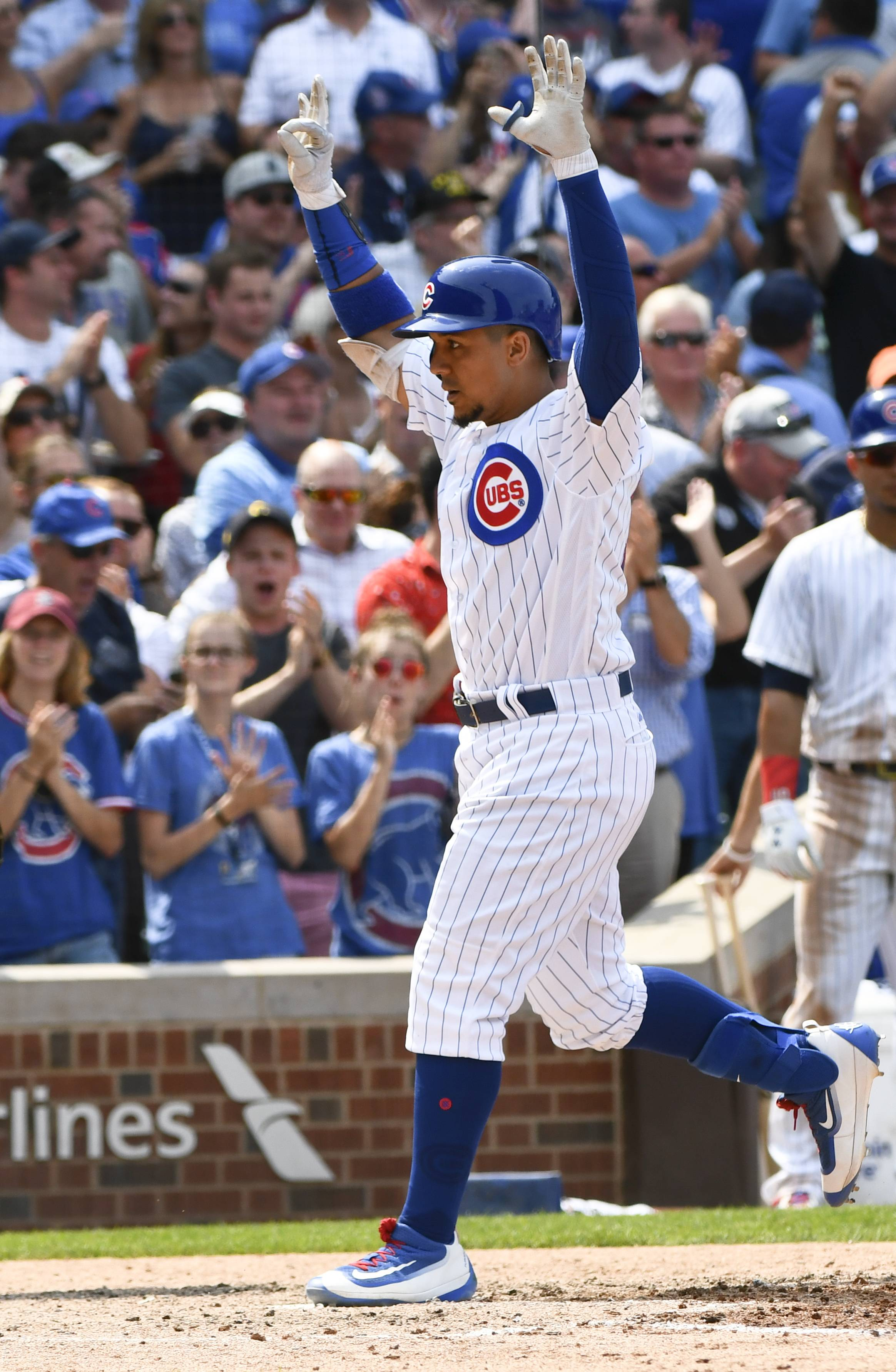 The Chicago Cubs got a sixth-inning pinch homer from Jon Jay to tie the game, and Ian Happ singled home 2 in the seventh Wednesday to rally the Cubs to a 7-3 victory over the Tampa Bay Rays at Wrigley Field. The Cubs once again returned to .500, at 42-42, with the first-place Milwaukee Brewers coming to town for a makeup game.