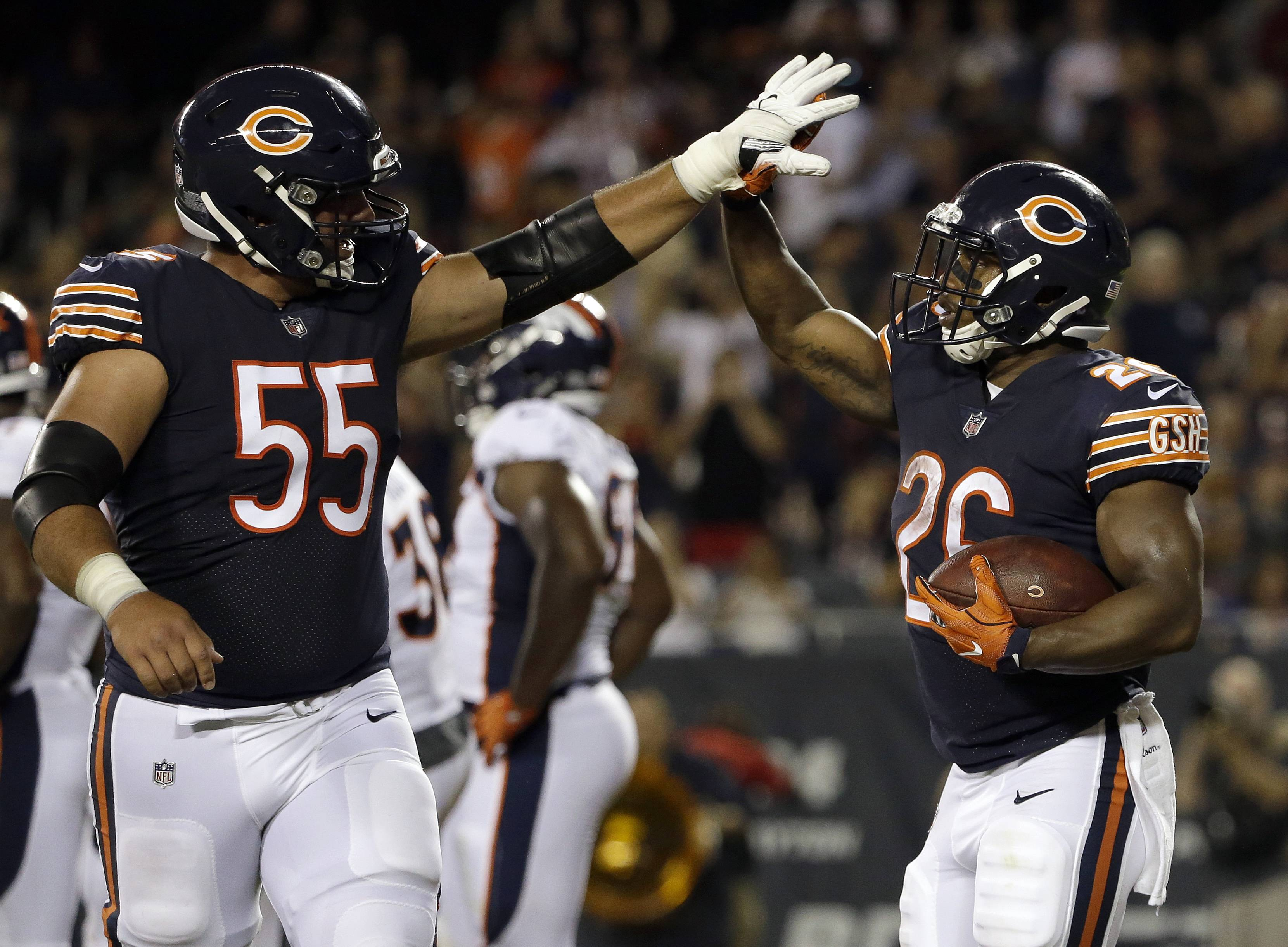 LeGere: Bears have a deep, diverse running game