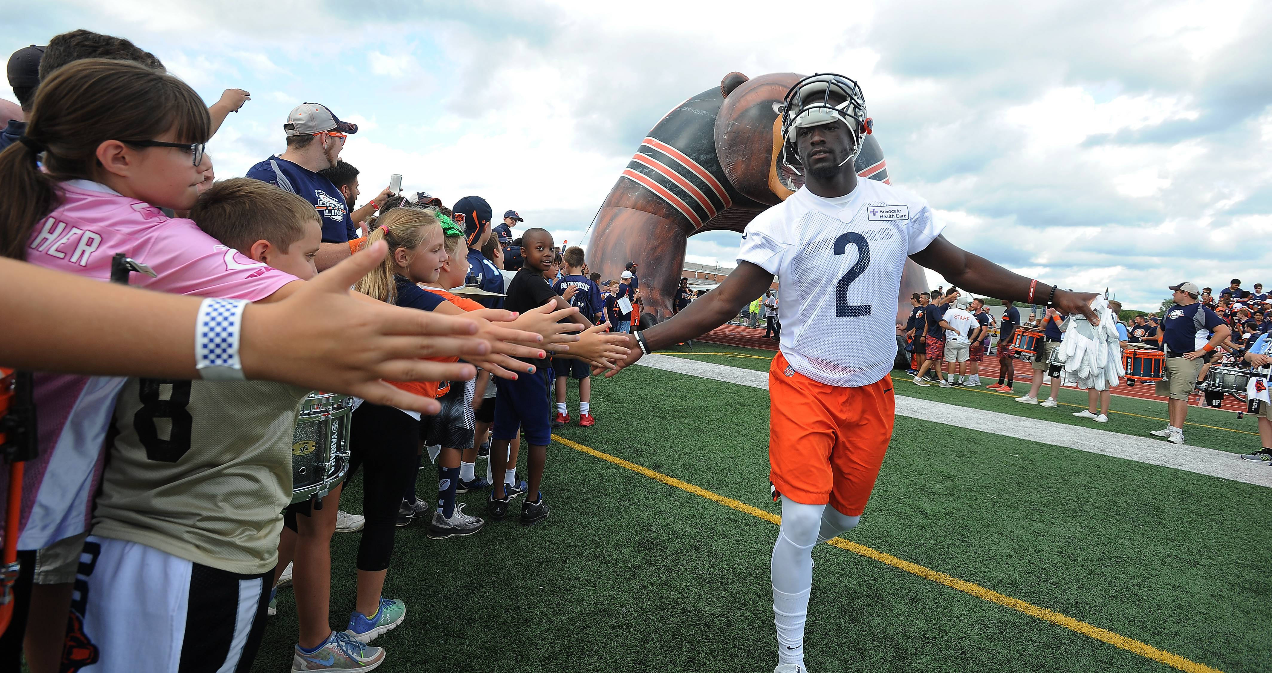 Bears take over Prospect High stadium, and local fans love it