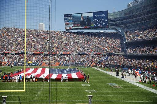 Imrem: National anthem controversy unifies Chicago Bears