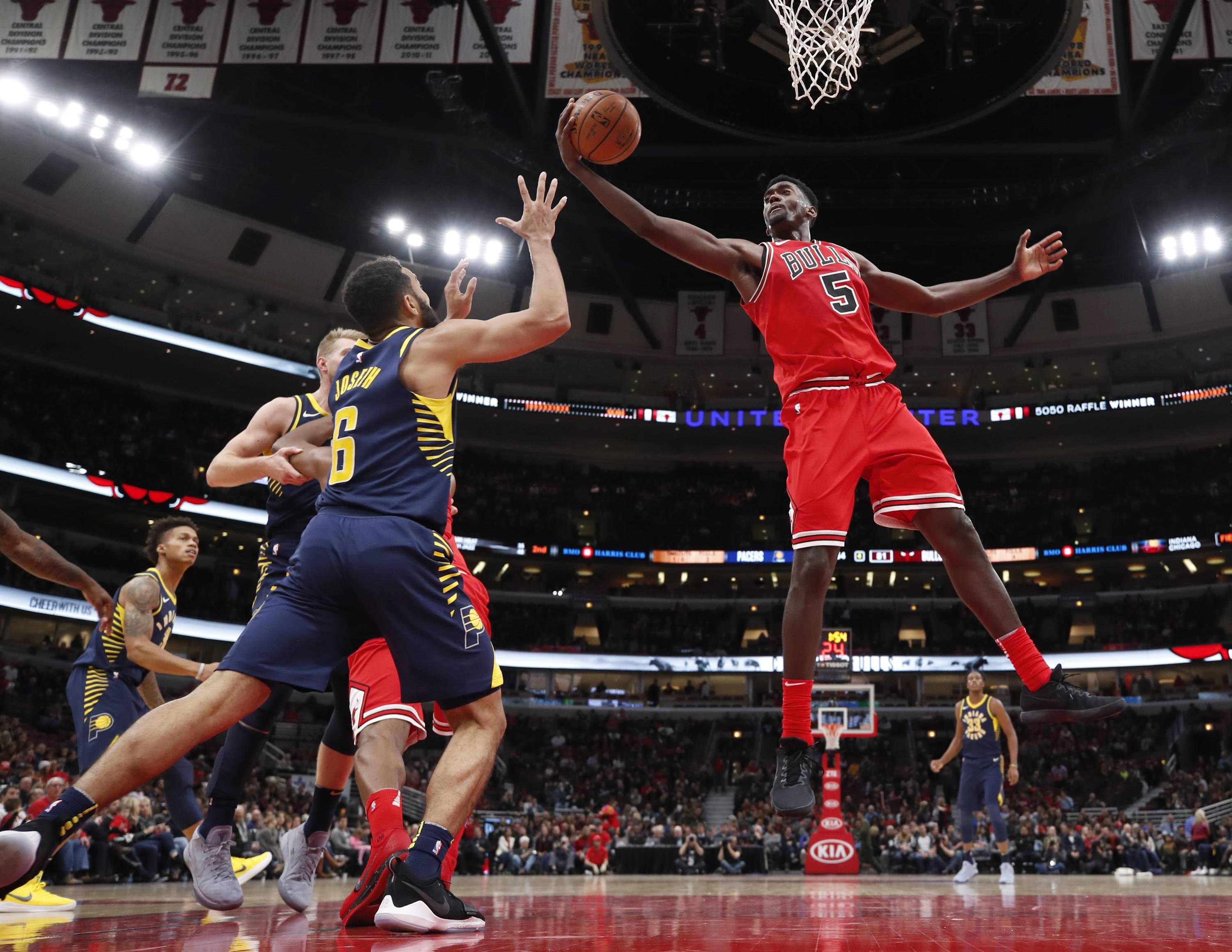 Portis delivers, but Bulls can't keep up with Pacers