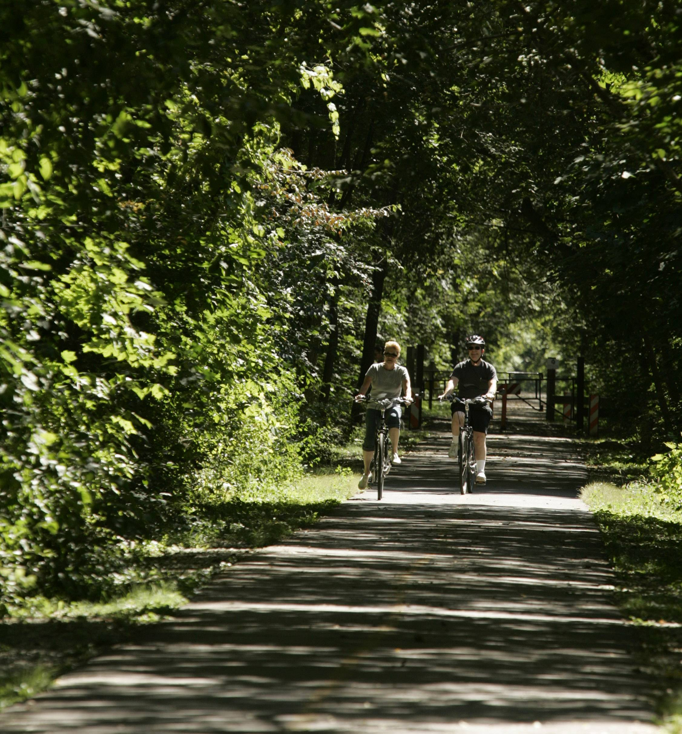 The McHenry County Conservation District's Prairie Trail will connect to a path along Route 31 if Algonquin secures funding for a new $1.8 million bikeway through its downtown.